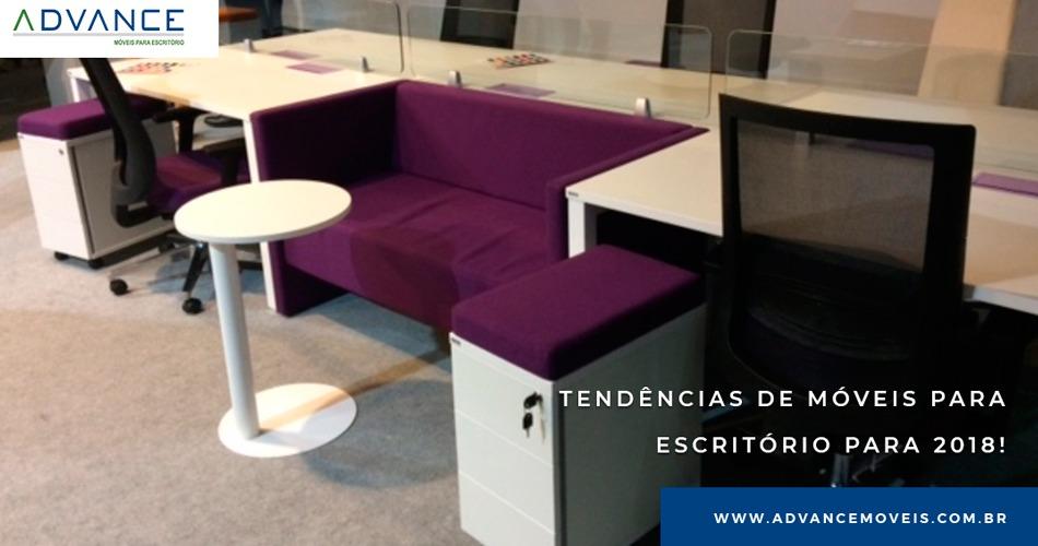 Tendências de móveis para escritório para 2018!
