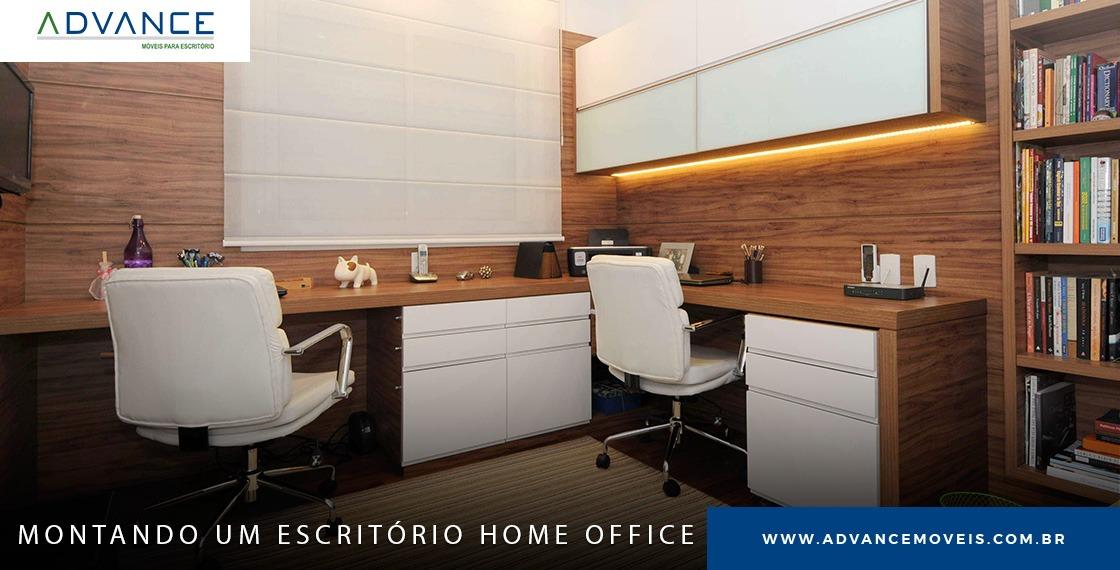 Como escolher os móveis para o seu home-office