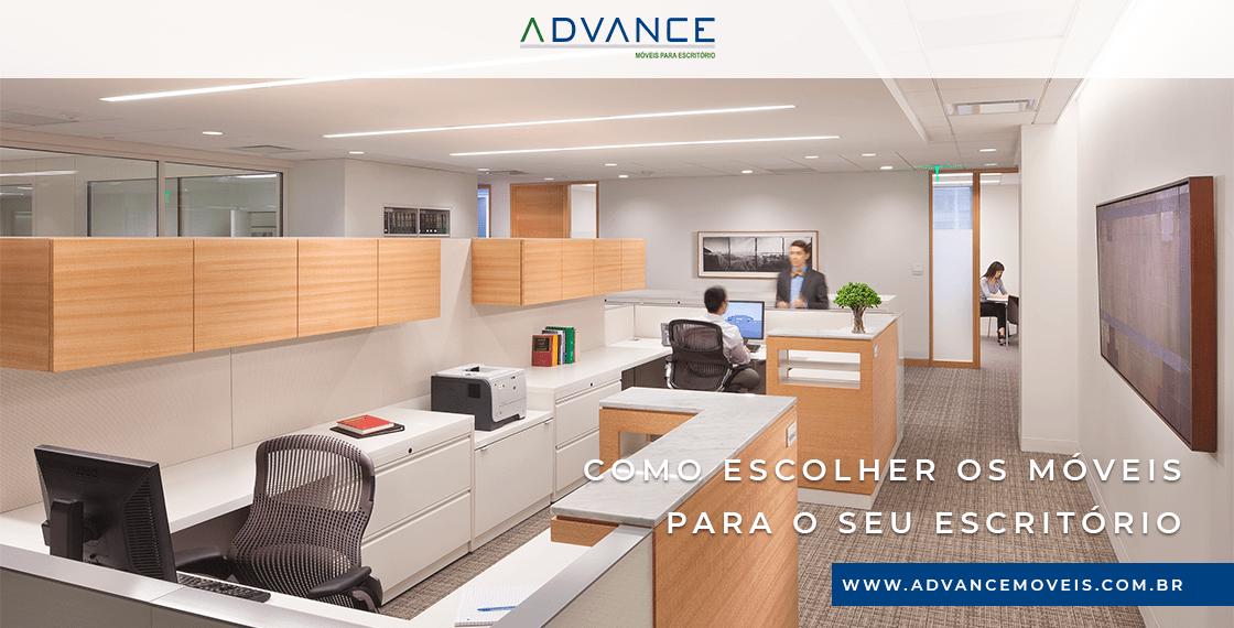 Como escolher os móveis para o seu escritório?