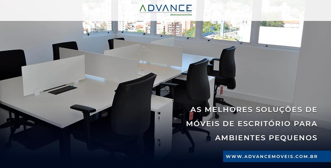 As melhores soluções de móveis de escritório para ambientes pequenos
