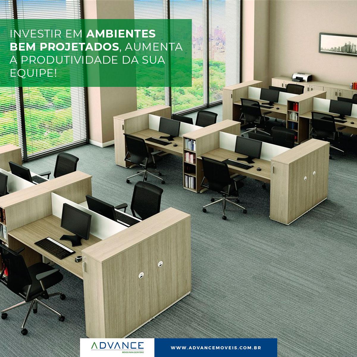 Você sabe quais são os ambientes ideais para aumentar a produtividade da sua equipe?