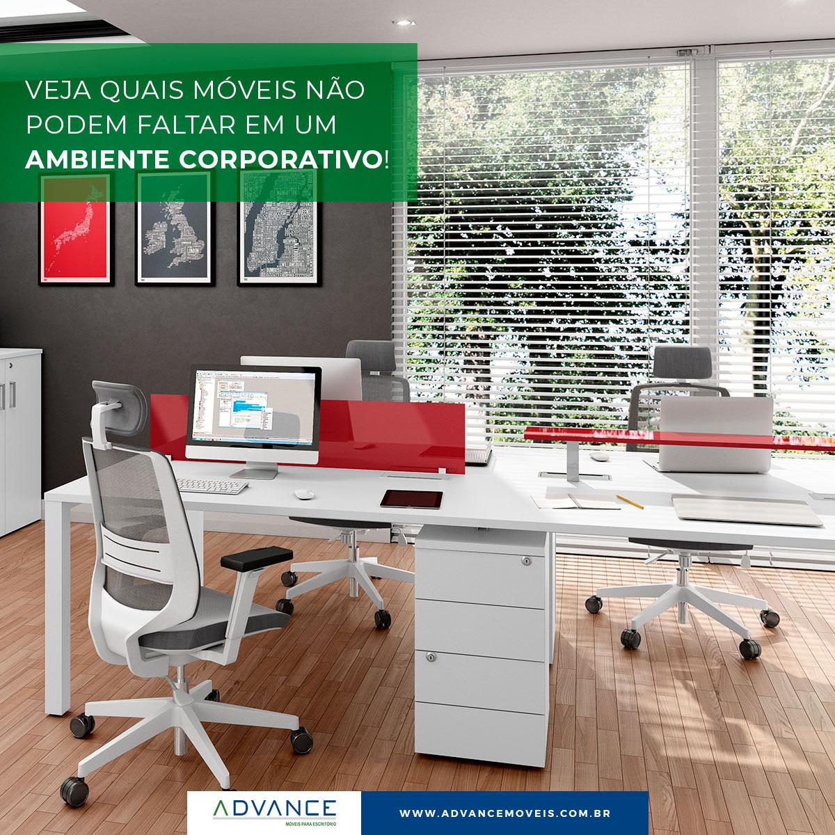 Veja quais móveis não podem faltar em um ambiente corporativo!