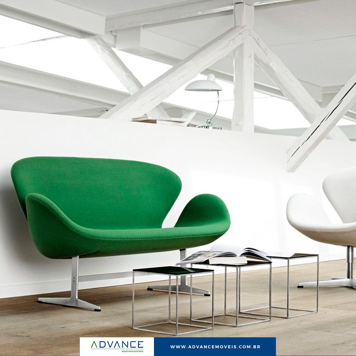 Você sabe qual é a melhor opção de poltrona para a recepção do seu escritório?