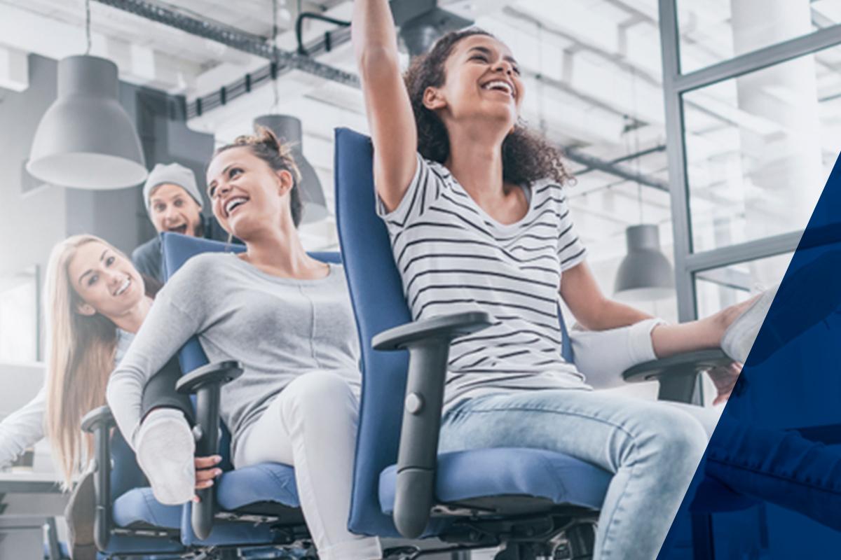 A cadeira de escritório é item principal da ergonomia no trabalho
